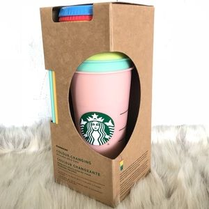 STARBUCKS Color Changing Cups 🌈